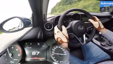 Vídeo: así acelera el Alfa Romeo Giulia 2.2 MultiJet 180 CV