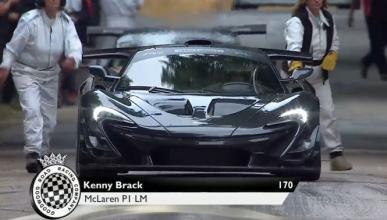 Récord para el McLaren P1 LM en Goodwood