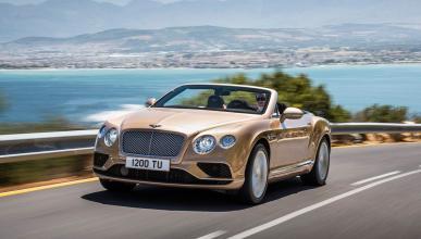 Cazado, otra vez, el Bentley Continental GT Convertible