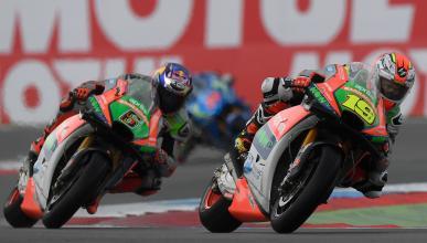 Álvaro Bautista y Stefan Bradl: su única salida es Ducati