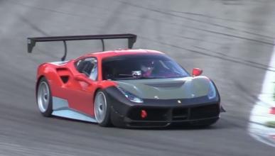 El Ferrari 488 Challenge se pone a punto en Monza