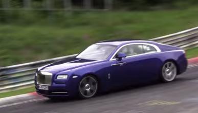 ¿Qué hace un Rolls Royce Wraith rodando en Nürburgring?
