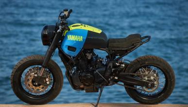 Yamaha XSR 700 Otokomae, por Ad Hoc Café Racers
