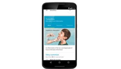 Google diagnosticará por la app que analiza sintomas