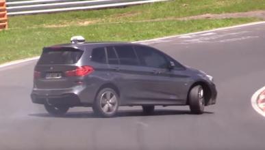 Vídeo: el BMW Serie 2 Gran Tourer también hace drift