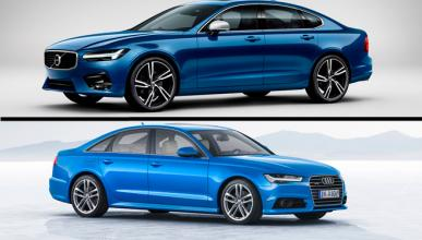 ¿Cuál es mejor, Volvo S90 o Audi A6?