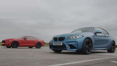 Drag Race: Ford Mustang GT contra BMW M2