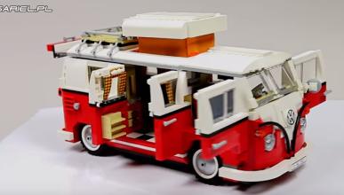 Cómo construir un VW T1 de Lego: 1.332 piezas en tres horas