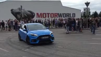 Vídeo: el modo Drift del Ford Focus RS también falla