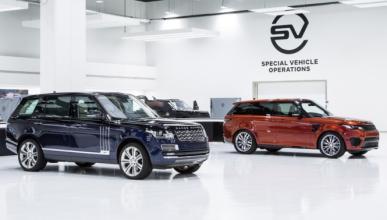 Más modelos SVR de Jaguar Land Rover hasta 2020