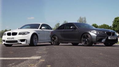 Vídeo: BMW Serie 1 M Coupé contra BMW M2 Coupé