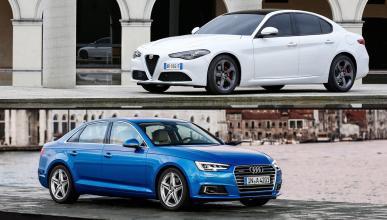 ¿Cuál es mejor, el Alfa Romeo Giulia o el Audi A4?