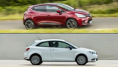 ¿Cuál es mejor, Renault Clio 2016 o Seat Ibiza?
