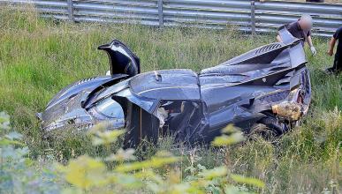 Accidente Koenigsegg One:1 Nürburgring