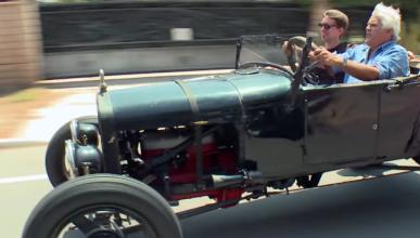 Jay Leno prueba el Ford Model T