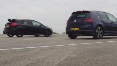 ¡Duelo ajustado! Volkswagen Golf R vs Ford Focus RS