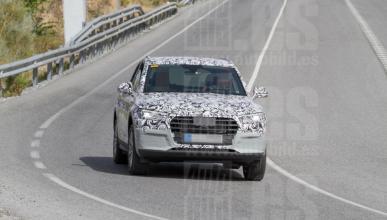 Audi Q5 e-tron 2017, fotos espía
