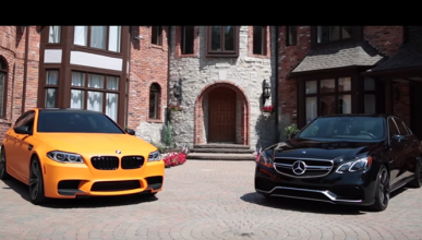 BMW M5 F10 contra Mercedes E63 AMG S, ¡empieza la batalla!