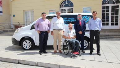 Una Nissan e-NV200 para el Ayuntamiento de Málaga