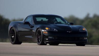 El récord de velocidad del Corvette eléctrico