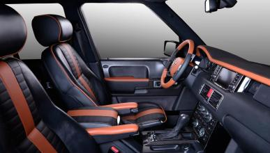 Range Rover Onyx Carbon Motors interior