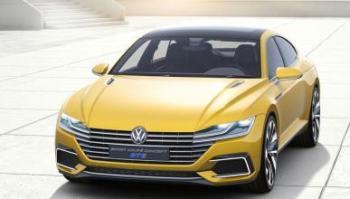 Volkswagen Sports Coupe GTE Concept tres cuartos delanteros 3