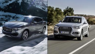 ¿Cuál es mejor, el Maserati Levante o el Audi Q7?