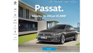 Así es la nueva www.volkswagen.es