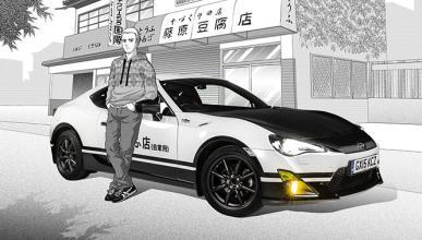 Toyota GT86 Initial D, el coche que nació del manga