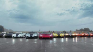 Esta es la primera reunión de propietarios de Koenigsegg