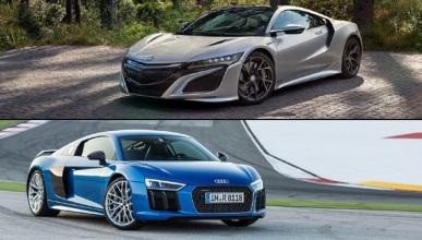 ¿Cuál es mejor, Honda NSX o Audi R8?