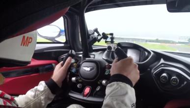 Vídeo 'on board' del Aston Martin Vulcan