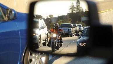 California da la razón a las motos en seguridad vial