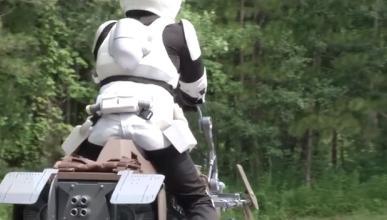 Vídeo: El 'speeder' de Star Wars cada vez más cerca