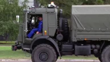 En Rusia tienen un camión Kamaz que conduce solo