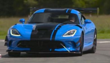 Vídeo: Chris Harris, a fondo con el Dodge Viper ACR