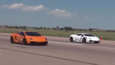 Vídeo: dos Lamborghini con 4.000 CV cara a cara
