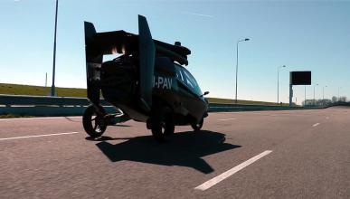 PAL-V Liberty coche volador modo carretera