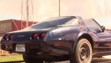 Recupera su Corvette robado... a medias
