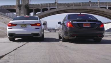 Pelea en traje: BMW 750i VS Mercedes S550