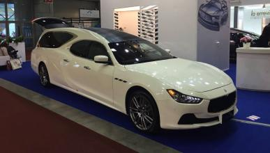 Maserati Ghibli fúnebre 2