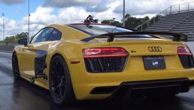 Vídeo: Impresionante aceleración de este Audi R8