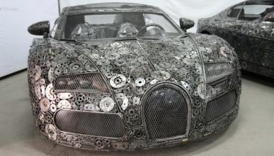 Bugatti Veyron chatarra