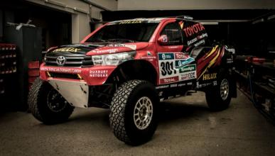 Nasser Al Attiyah disputará el Dakar 2017 con Toyota