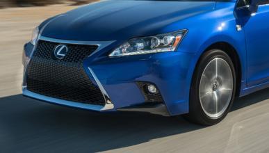 Lexus CT 2017, primeras fotos espías
