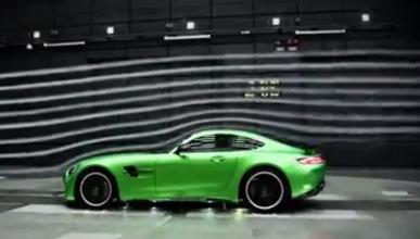 La aerodinámica del Mercedes-AMG GT R, al detalle