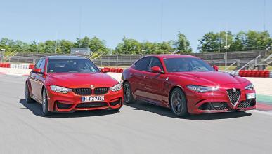 Duelo radical: Alfa Romeo Giulia QV vs BMW M3 Competition