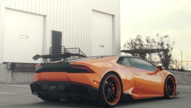 Lamborghini Huracán con escape iPE: ¡sube el volumen!