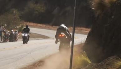 Vídeo: Salvada bestial a lomos de una Ducati 1199 Panigale