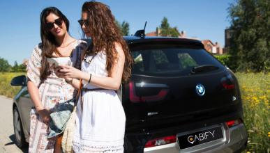 Cabify Electric y BMW i3